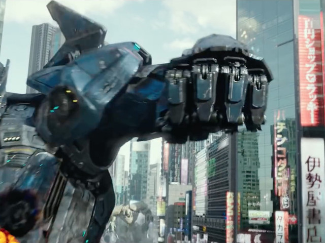 The latest trailer for Pacific Rim Uprising is packed with giant mech vs. giant monster action