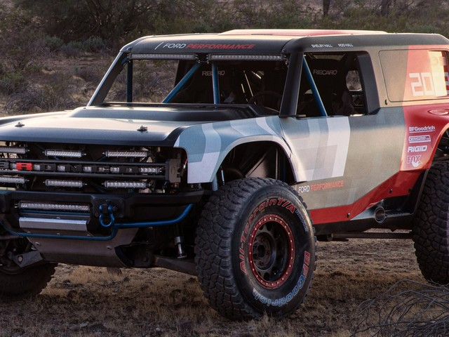Ford Bronco R Prototype Unveiled, Hints At Upcoming Production Model