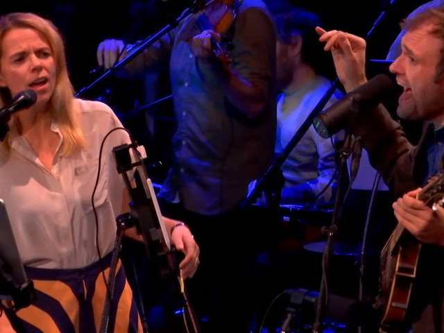 Chris Thile & Aoife O'Donovan Cover Jeff Buckley On 'Live From Here'
