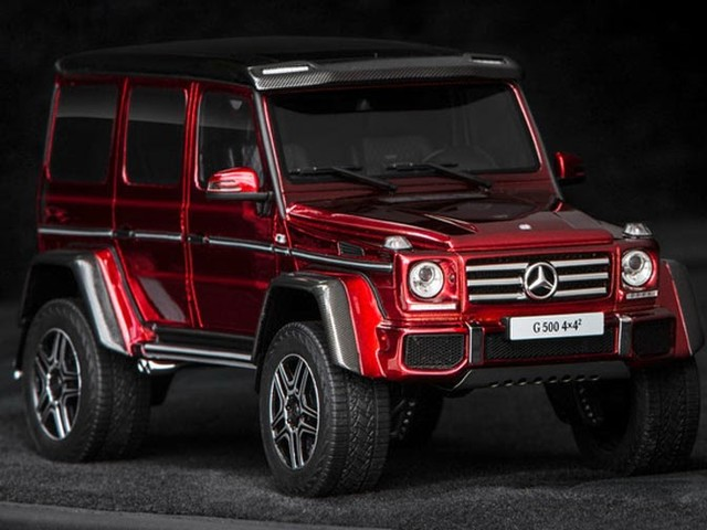 A Mercedes-Benz G500 4x4² We Can All Afford Because You Know, It's A Scale Model