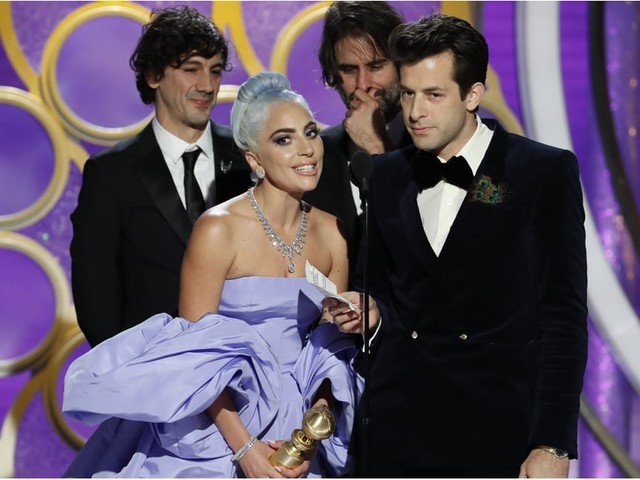 "Lady Gaga Is Moved to Tears by ""Shallow"" Golden Globes Win, and Frankly, We Are Too!"