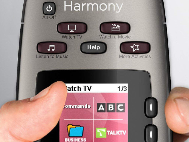 You'd have to be crazy to pass up a $120 Logitech Harmony remote for $35