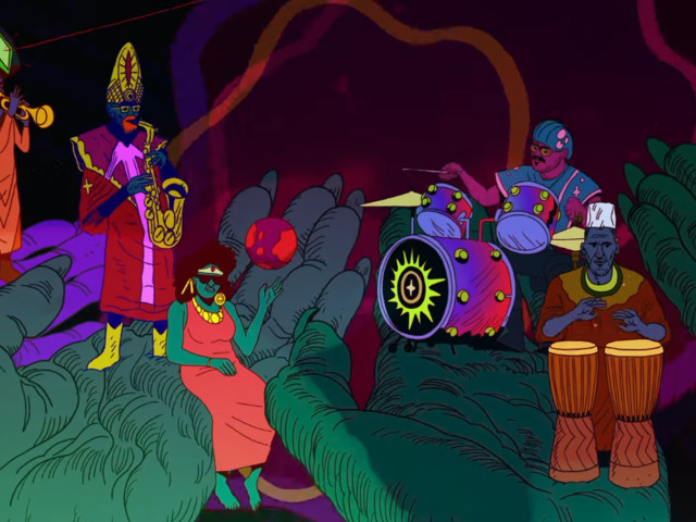 Plunge into the world of Sun Ra and the Outer Space Visual Communicator
