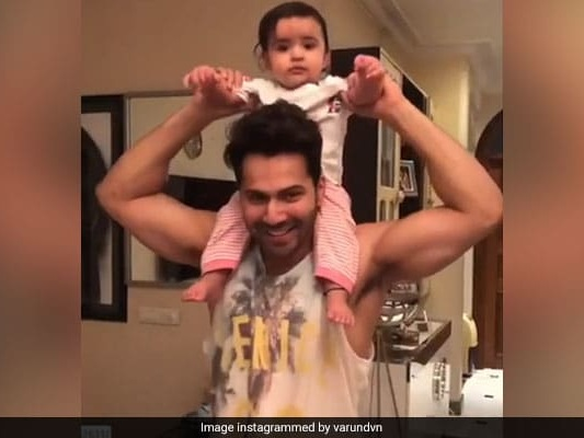 Varun Is 'Very Busy' On Day Off With 'Chachu No 1' Duties, Courtesy Niece