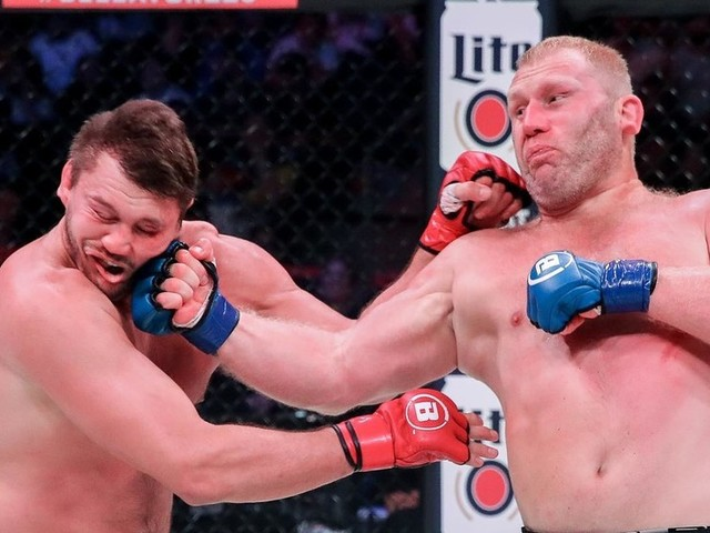 'Meanest uppercut in the game': Kharitonov KO's Mitrione after mouthpiece drama at Bellator 225