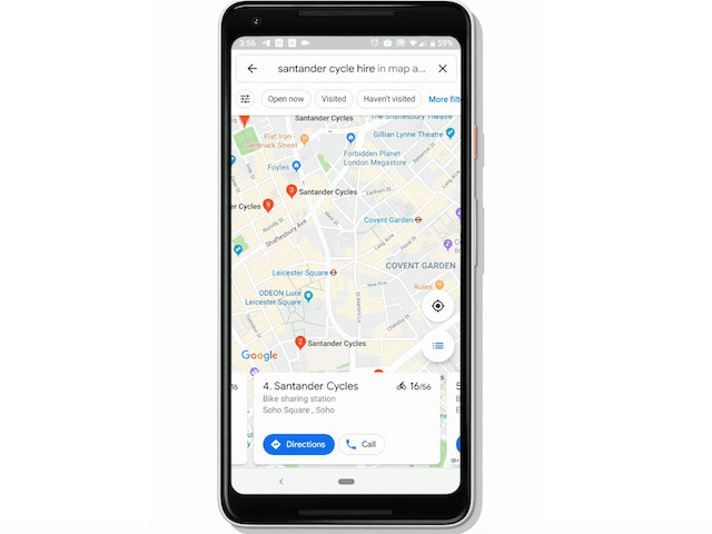 Google Maps Will Display Real-Time Bikesharing Information In 24 Cities