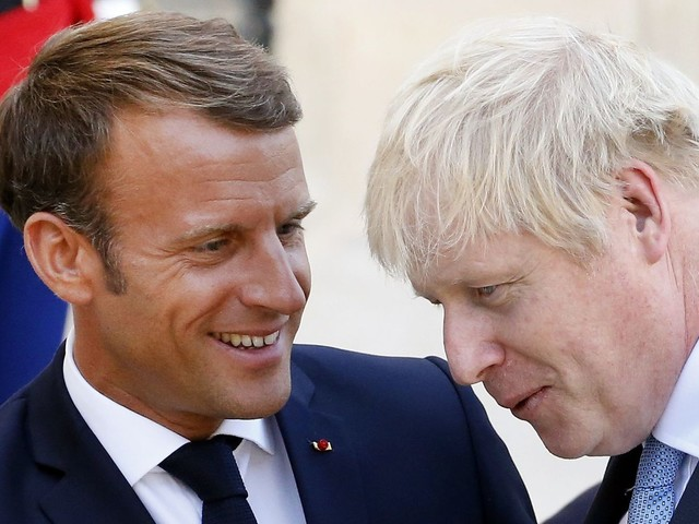 Emmanuel Macron Can't Save Boris Johnson