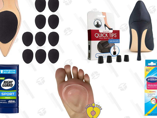 Lessen the Torture That Is High Heels With These Five Foot-Saving Products