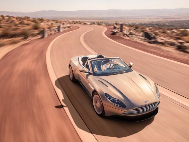 The 2018 Aston Martin DB11 Volante is pure convertible beauty