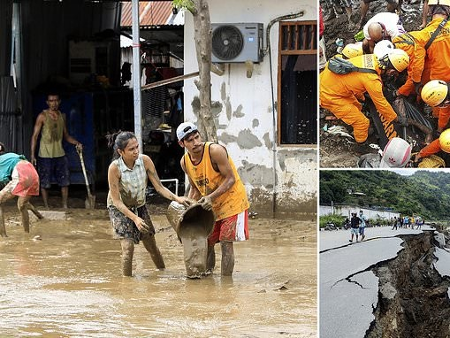 Flash floods and landslides kill at least 70 in Indonesia and East Timor
