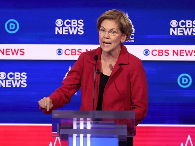 Pro-abortion Elizabeth Warren attacks Mike Bloomberg for alleged abortion 'kill it' comment