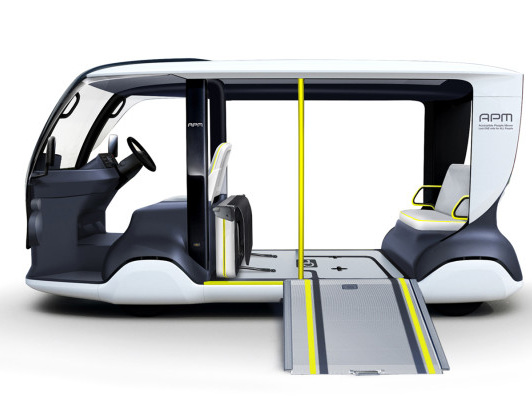 This is one way Toyota plans to shuttle people around during the 2020 Olympics