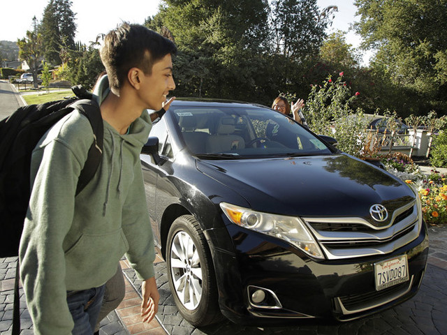 Where parents feel like chauffeurs, companies step in