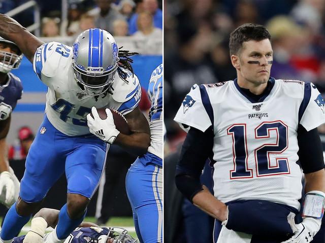 Fantasy football Week 12 Start 'Em, Sit 'Em: Bo Scarbrough, Tom Brady
