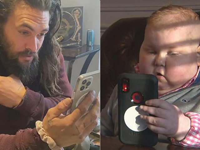 Jason Momoa posts adorable video after meeting 7-year-old 'Aquaman' fan who's battling brain cancer