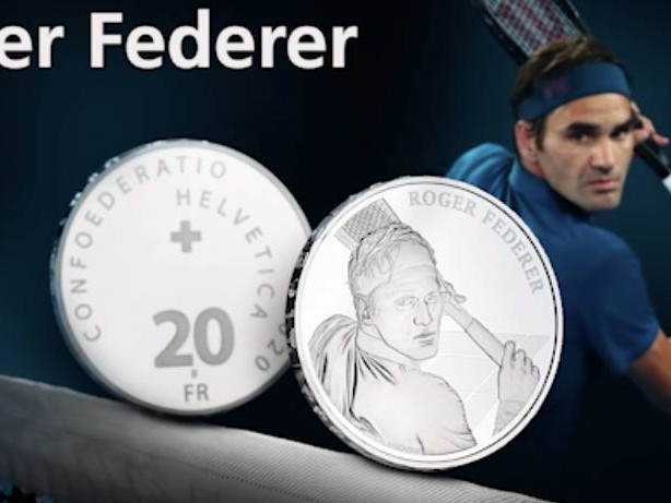 The website selling Roger Federer's commemorative Swiss coin crashed after it received 2.5 million clicks from keen customers
