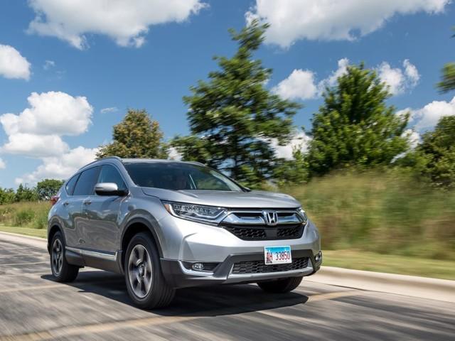 2017 Honda CR-V: Real-World Cargo Space