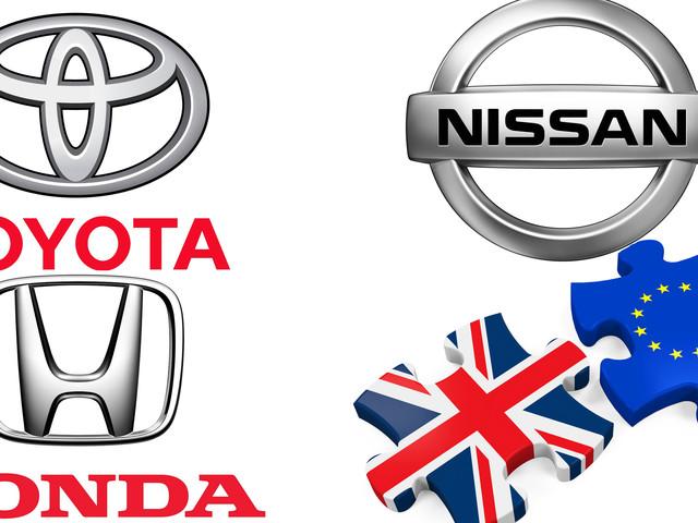 Honda, Toyota, and Nissan Threaten to Leave the U.K. if Brexit Kills Profits