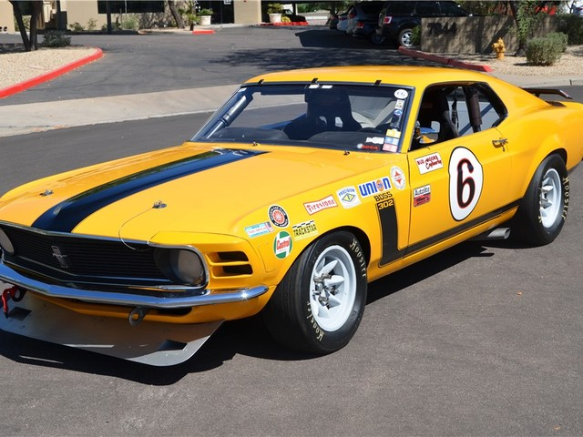 1970 Ford Mustang--Boss FASTBACK A/S RACE CAR