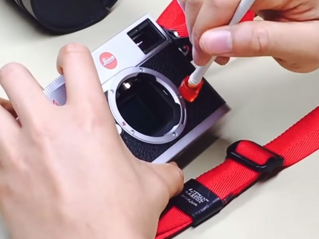 This is Leica's Official Sensor Cleaning Process