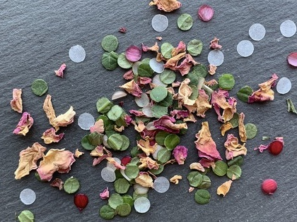 Make eco-friendly confetti out of plants