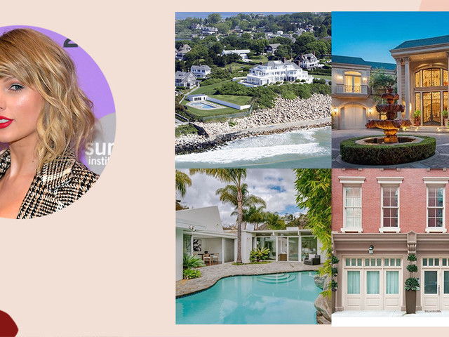 Get An Inside Look At All Of Taylor Swift's Homes