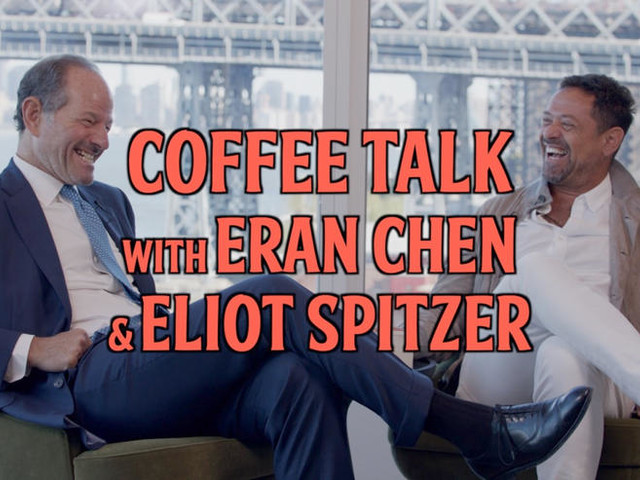 """That's the best you can do?"" Eliot Spitzer and Eran Chen on their recent project"