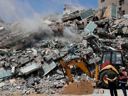 "Israel Airstrikes Flatten 3 Gaza Buildings, Kill 42 As Netanyahu Says ""War Will Go On"""