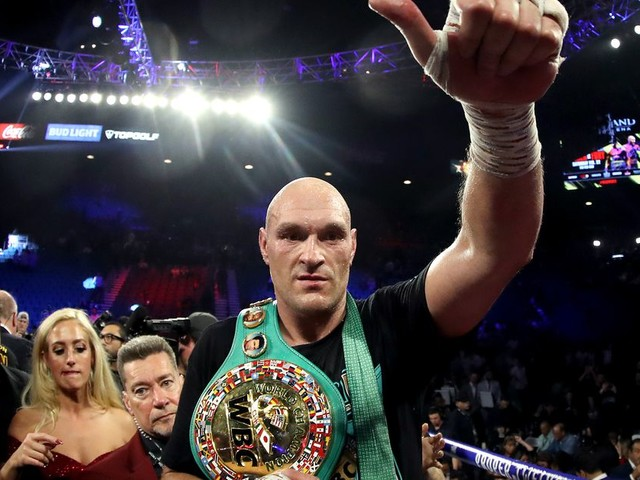 Tyson Fury is Boxing's New King