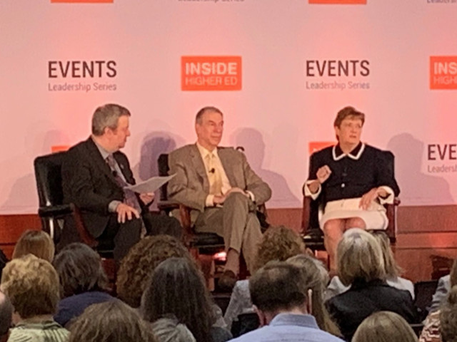Advocates share war and success stories at 'Inside Higher Ed' event