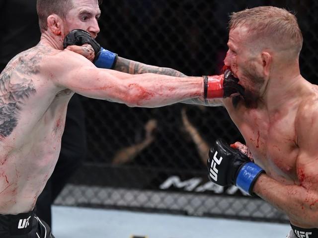 UFC Vegas 32 results:Dillashaw takes razor thin split in war with Sandhagen