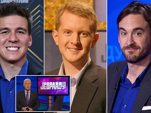 Three Jeopardy! champs to compete for title of 'Greatest Player of All Time'