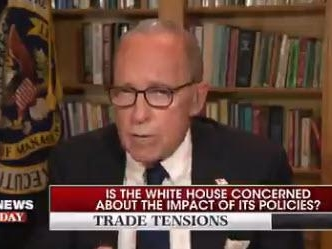 "Kudlow ""Doesn't See A Recession At All"", Warns Full 10% China Tariffs To Go Ahead In December"