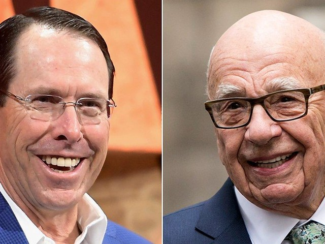 Rupert Murdoch contacted AT&T CEO twice about buying CNN