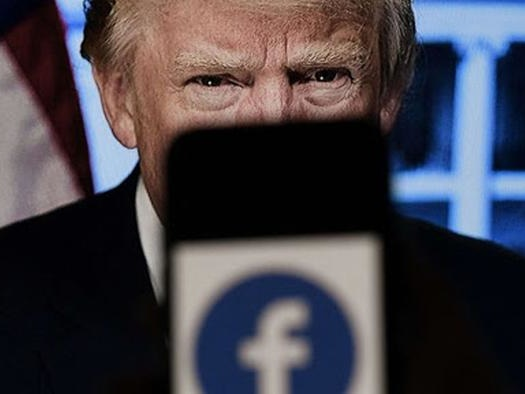 Facebook Confirms Trump Banned From Platform Until At Least January 2023
