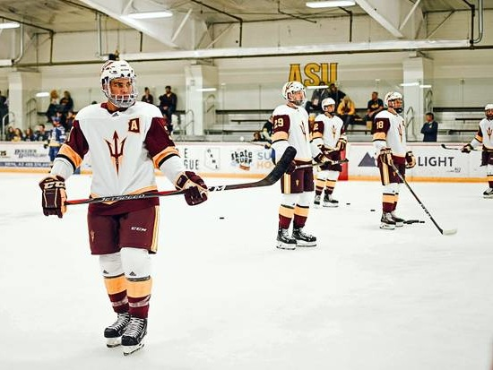 Southern Nevada native Dominic Garcia helping Arizona State hockey 'be the tradition'