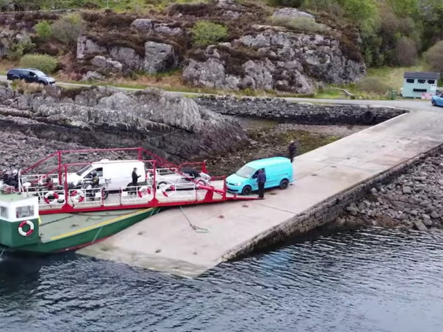 The World's Last Manual Turntable Ferry Is A Very Clever Solution To Nature's Challenges
