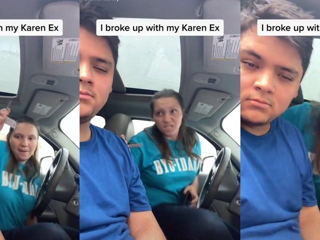 'I'm gonna murder you in your sleep': TikToker films 'Karen ex' threatening, attacking him
