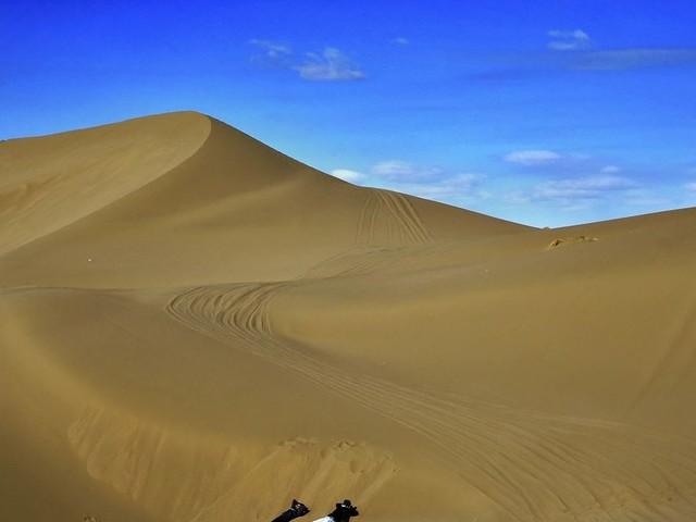 The Desert Reasserts Itself