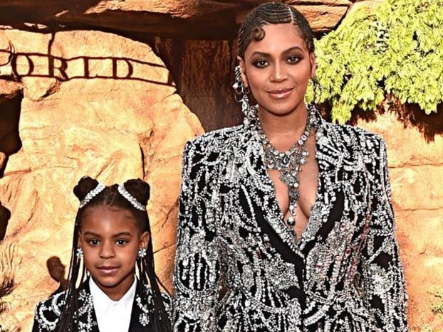 Beyoncé's Daughter Blue Ivy, 7, Is Now An Award Winning Songwriter