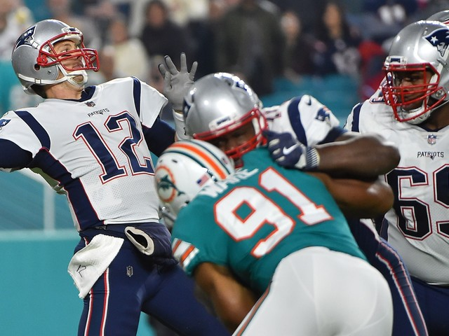 Patriots suffer surprise setback as Dolphins snap win streak ahead of Pittsburgh trip