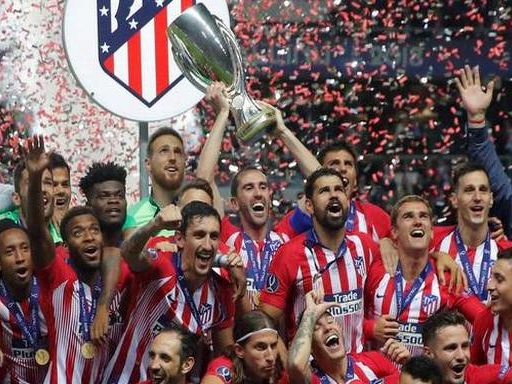Atletico lift Super Cup with 4-2 win over Real; Djokovic progresses at Cincinnati