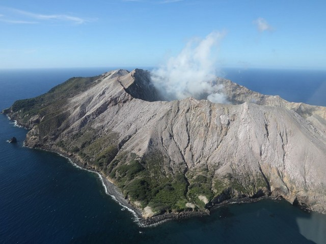 New Zealand volcano erupts while Royal Caribbean ship is nearby