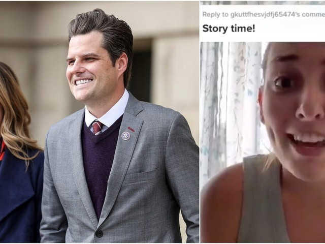 Matt Gaetz's future sister-in-law called him 'weird and creepy' and said he pressured an older man to date her when she was 19