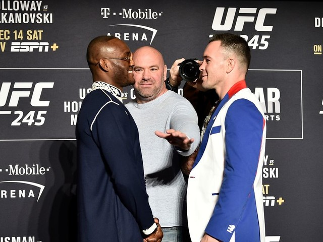 UFC 245: Usman vs. Covington full media day faceoffs