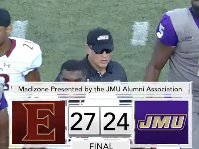 Elon just beat JMU in arguably one of CFB's biggest upsets ever