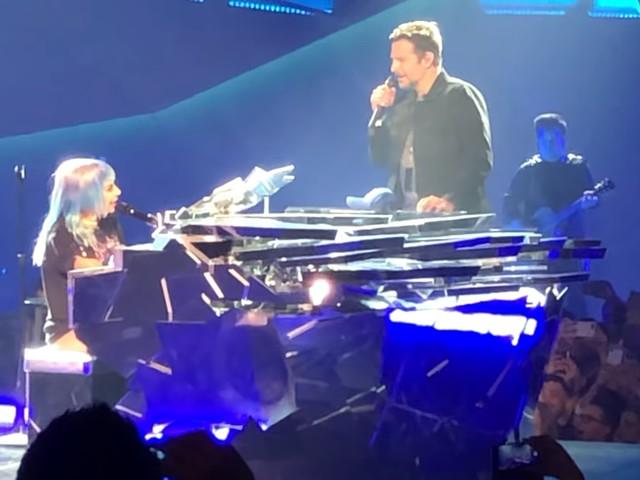Bradley Cooper & Lady Gaga Perform 'Shallow' In Las Vegas