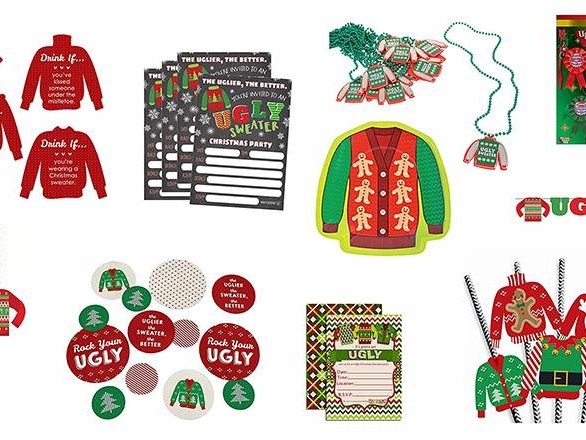 Top 10 Best Ugly Christmas Sweater Party Supplies