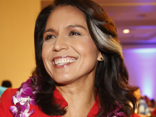 Rep. Tulsi Gabbard Says She Will Run For President In 2020
