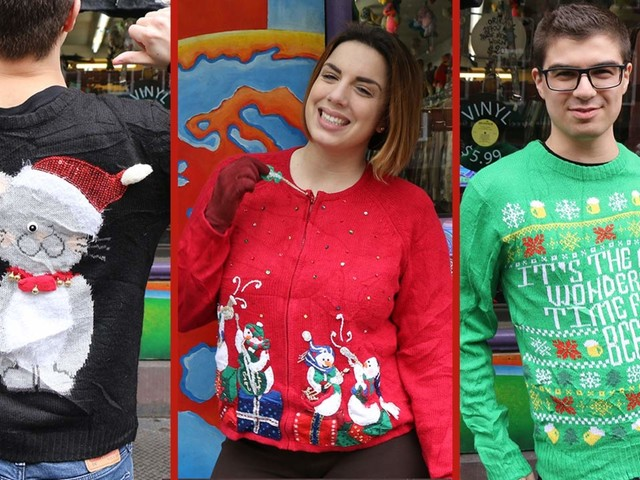 What you need to know about ugly Christmas sweaters